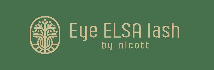 Eye ELSA lashロゴ